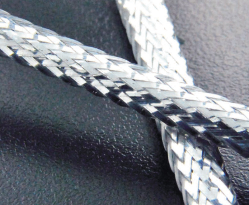 Metallic Polyester Braided Sleeving